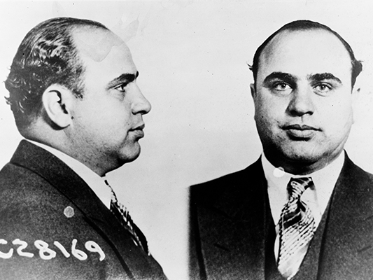 a brief history of the life of al capone an american gangster David has taught college history and holds an ma in history  no criminal  gained more fame than al capone, an american gangster who has captivated  the.