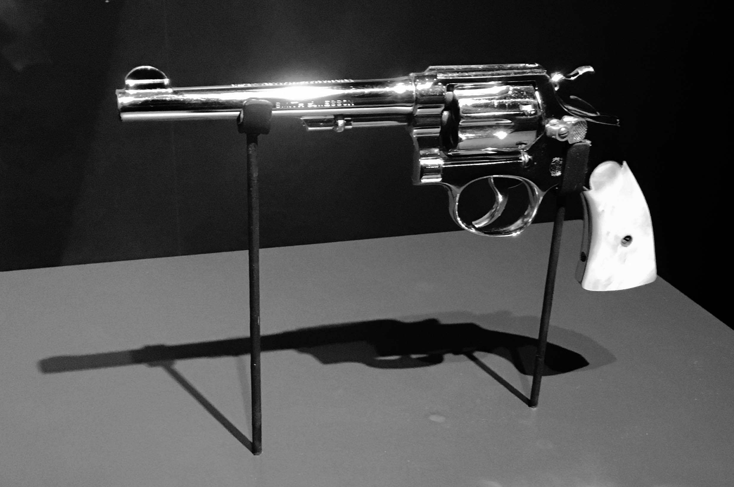 Al Capone gun on display at Mob Museum | The Mob Museum