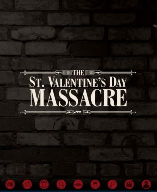 St Valentine S Day Massacre Wall The Mob Museum